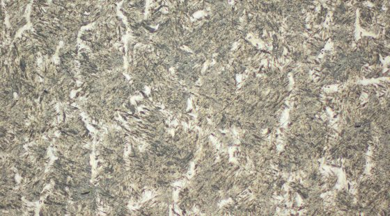 Typical microstructure VAUTID 40