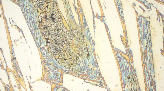 Typical microstructure VAUTID 100 T