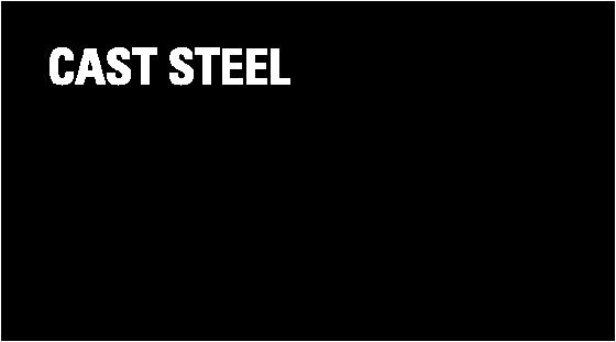 Low carbon steel castings